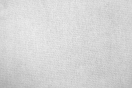 Tissu Gabardine Épaisse Blanc -Coupon de 3 mètres