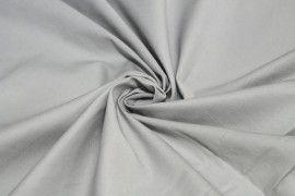 Tissu Gabardine lavée Gris clair -Au Mètre