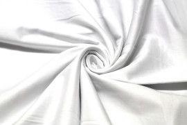 Tissu Gabardine lavée Blanche -Au Mètre