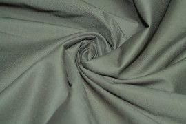 Tissu Coton/Elasthanne Kaki de Qualité, Coupon 3 mètres