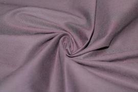 Tissu Coton/Elasthanne Prune de Qualité, Coupon 3 mètres
