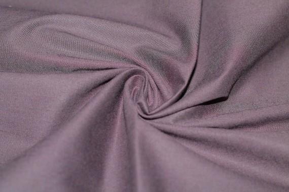 Popeline Coton/Elasthanne Prune