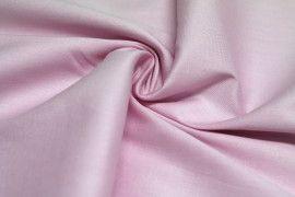 Tissu Coton/Elasthanne Rose de Qualité, Coupon 3 mètres