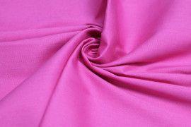 Tissu Coton/Elasthanne Fuchsia de Qualité, Coupon 3mètres