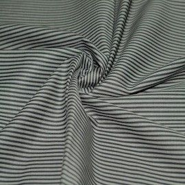 Tissu Doublure Coton Elasthane Rayée | All Tissus