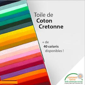 Tissu Coton Cretonne au mètre | All Tissus