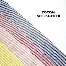 Coton Seersucker